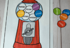 fun hands on gumball free printable for teaching days of the week