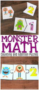 monster printable game
