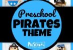 Ahoy, me hearties! Children will have fun diving into this Pirate Preschool Theme filled with cute pirate crafts, educational activities, and pirate learning ideas for toddler, preschool, pre k, and kindergarten age kids.