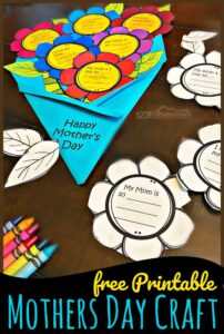 Printable Mothers Day Craft