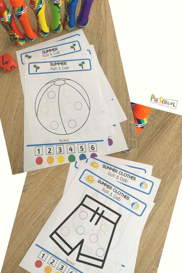 color recognition activity for preschoolers