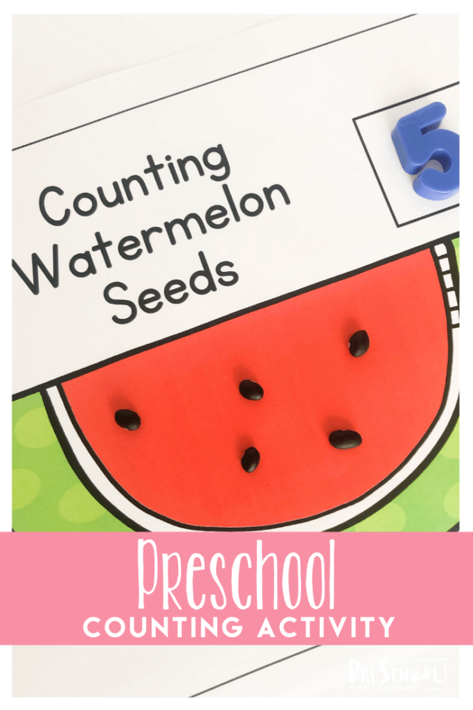Download Watermelon Counting Template