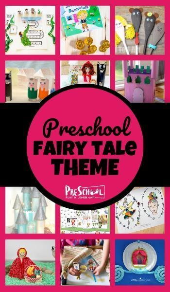 Let's learn about fairy tales with this Fairy Tale Preschool Theme! You and your kids will adore these fun, fascinating, and educational activities to go along with  Little Red Riding Hood, the Three Little Pigs, Cinderella, the Ugly Duckling, Three Billy Goats Gruff, and more!