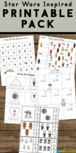 free printable star wars worksheets