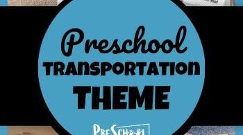 Learn all about cars, trucks, and other vehicles with your preschooler using this Transportation Preschool Theme! Your kids will love these engaging activities, printables, and crafts.