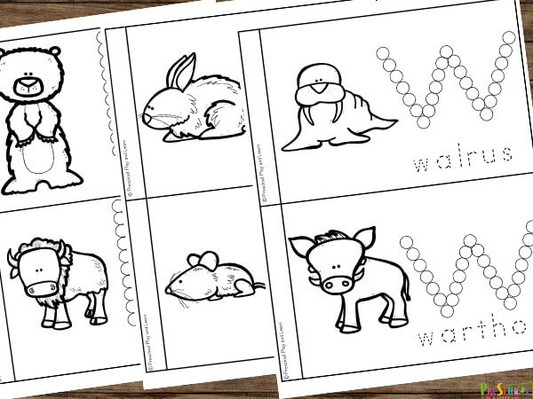 learn about Mammals for Preschoolers with this fun science activity for pre k