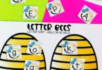 Help kids learn to look for differences in letters with this fun Visual Discrimination Activities for preschool, pre k, kindergarten, and grade 1. Use this bee themed activity as colorful sorting mats or cut and paste worksheets.