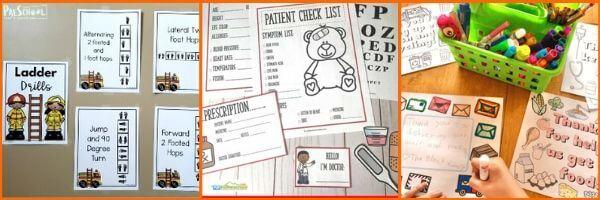Community Helper Activities for Preschoolers