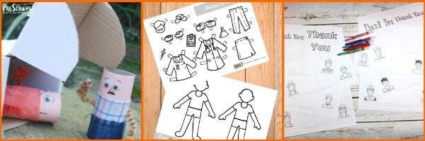 Community Helper Crafts for Preschoolers