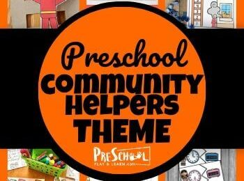 Learn all about nurses, firefighters, and construction workers with your preschooler using this Community Helpers Preschool Theme! Your kids will love these engaging activities, printables, and crafts.