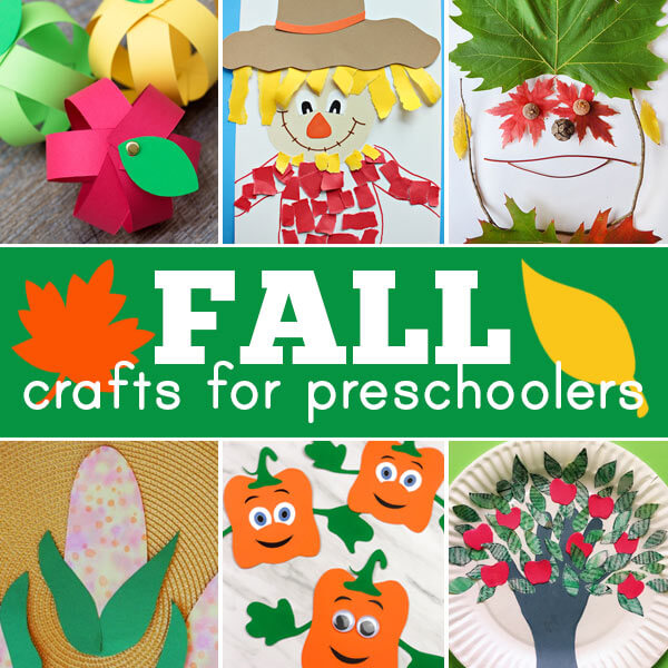 fall art projects and fall activities for preschoolers
