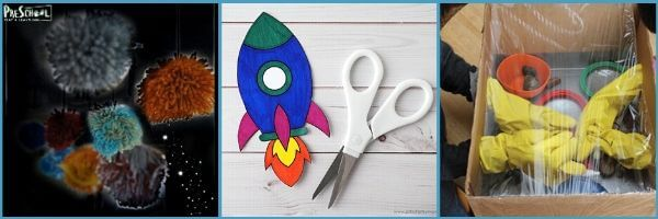 Outer Space Crafts for Preschoolers: