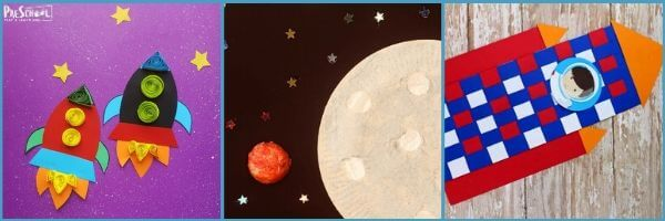 Preschool Outer Space Literacy Activities: