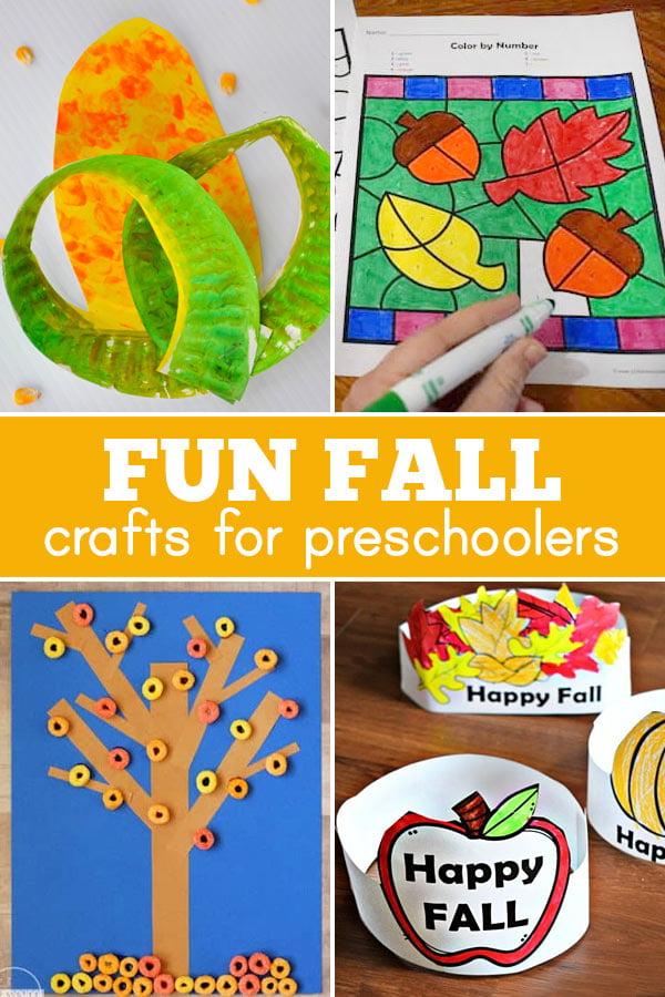lots of fun preschool fall crafts