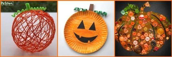 Pumpkin Crafts for Preschoolers: