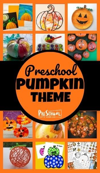 Learn all about pumpkins with your preschooler using this Pumpkin Preschool Theme! Your kids will love these engaging activities, printables, and crafts perfect for a pumpkin theme for preschoolers in October.
