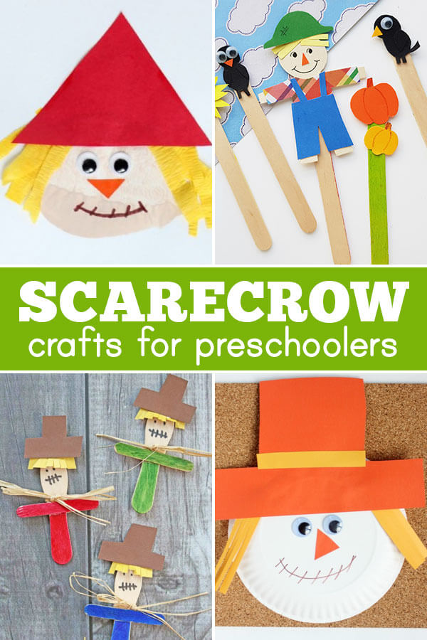 silly scarecrow crafts for preschoolers
