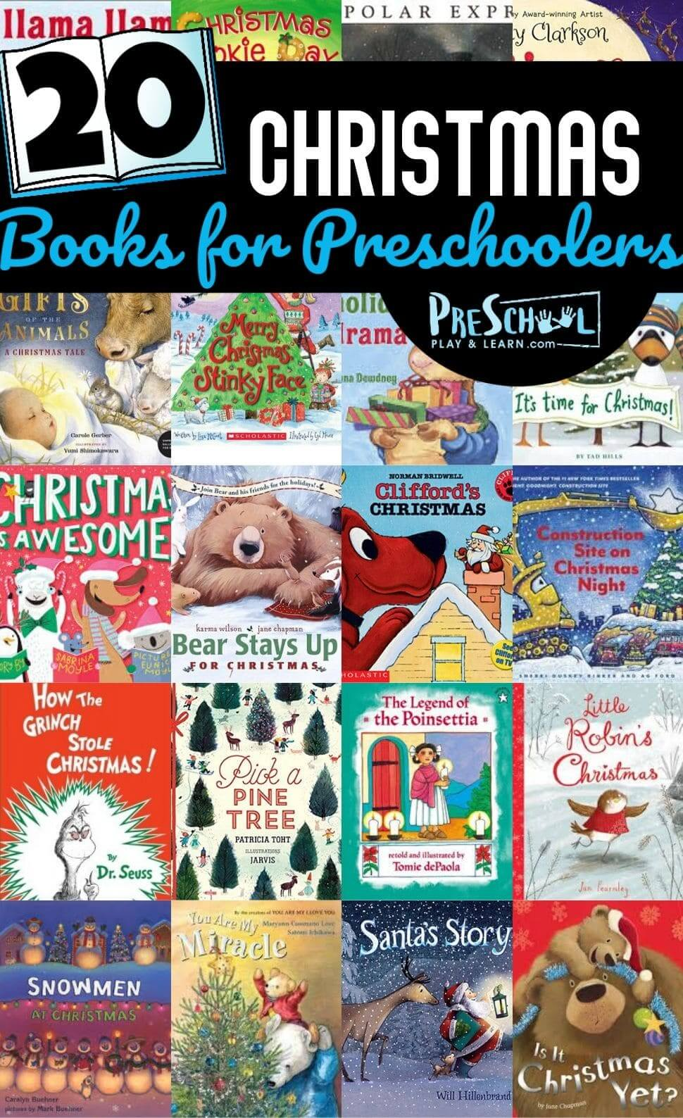 Cuddle up with a fun book this December with your toddler, preschool, pre-k, kindergarten, and first grade child with these engagingChristmas Books for Preschoolers. We have so many really cute stories with beautiful illustrations to keep your child engaged with thesepreschool Christmas bookthe whole holiday season.