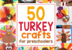 Easy Turkey Crafts for Kids
