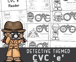 CVC Words Printables