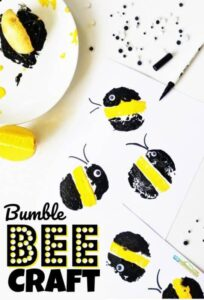 bumblee bee craft