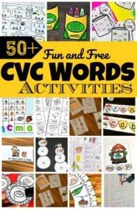 cvc-words-activities