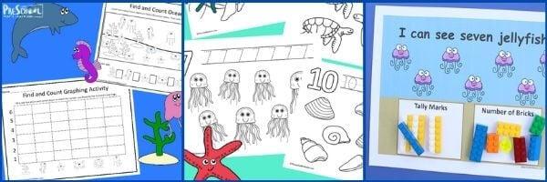 Preschool Ocean Math Activities