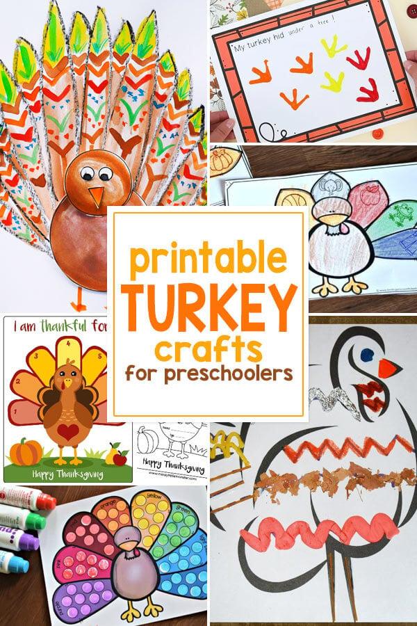 Turkey Craft Printables