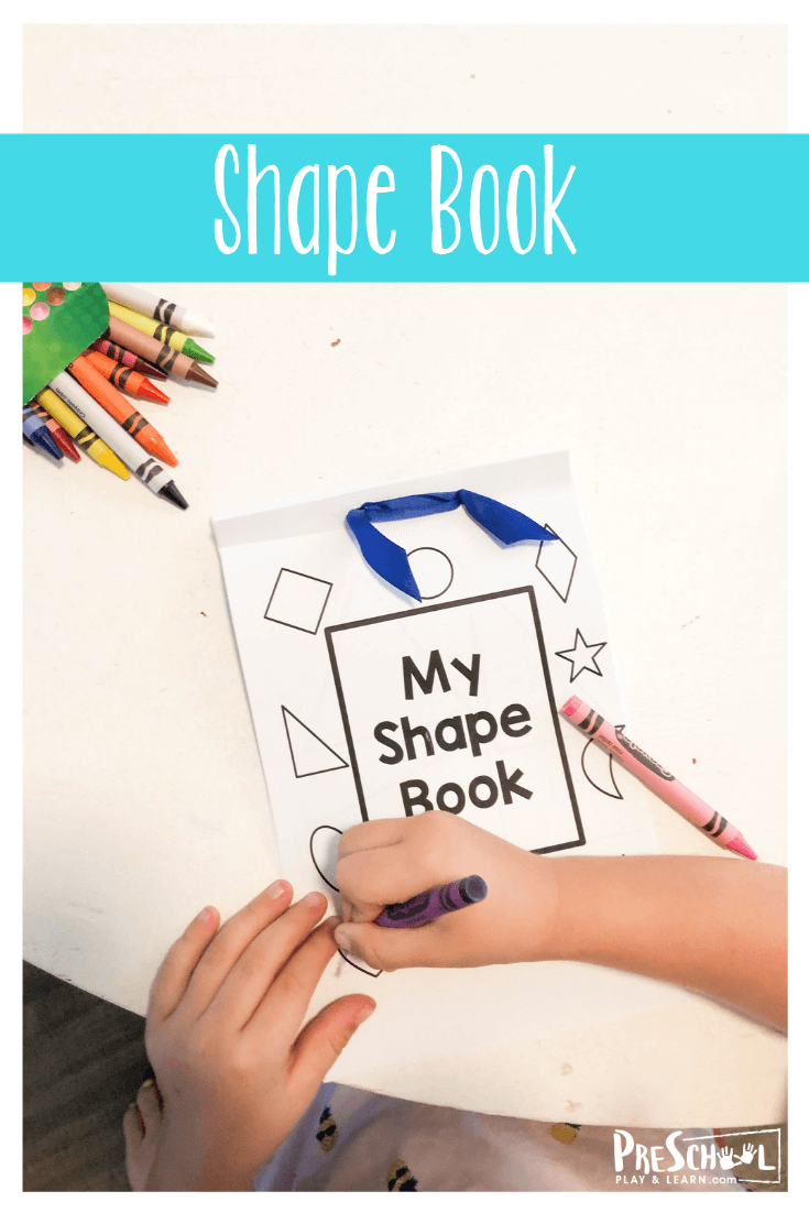 shape book for preschoolers