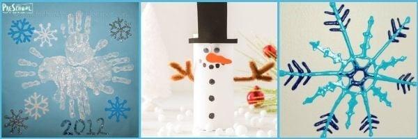 Snow Crafts for Preschoolers