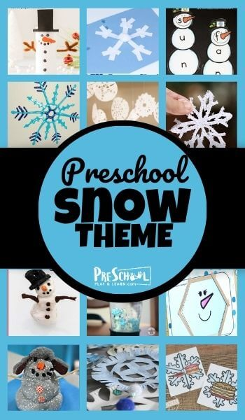 Learn all about snow with your preschooler using this Snow Preschool Theme! Your kids will love these engaging snow activities, free snow printables, and snow craftsin this preschool snow theme. These fun snow ideas are perfect for pre-k, toddler, kindergarten, and first grade students too.