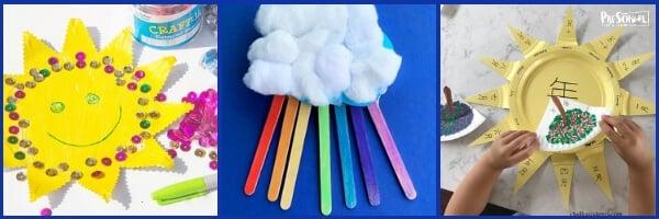 Weather Crafts for Preschoolers