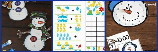 Weather Math Activities for Preschoolers