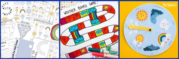 free weather printables