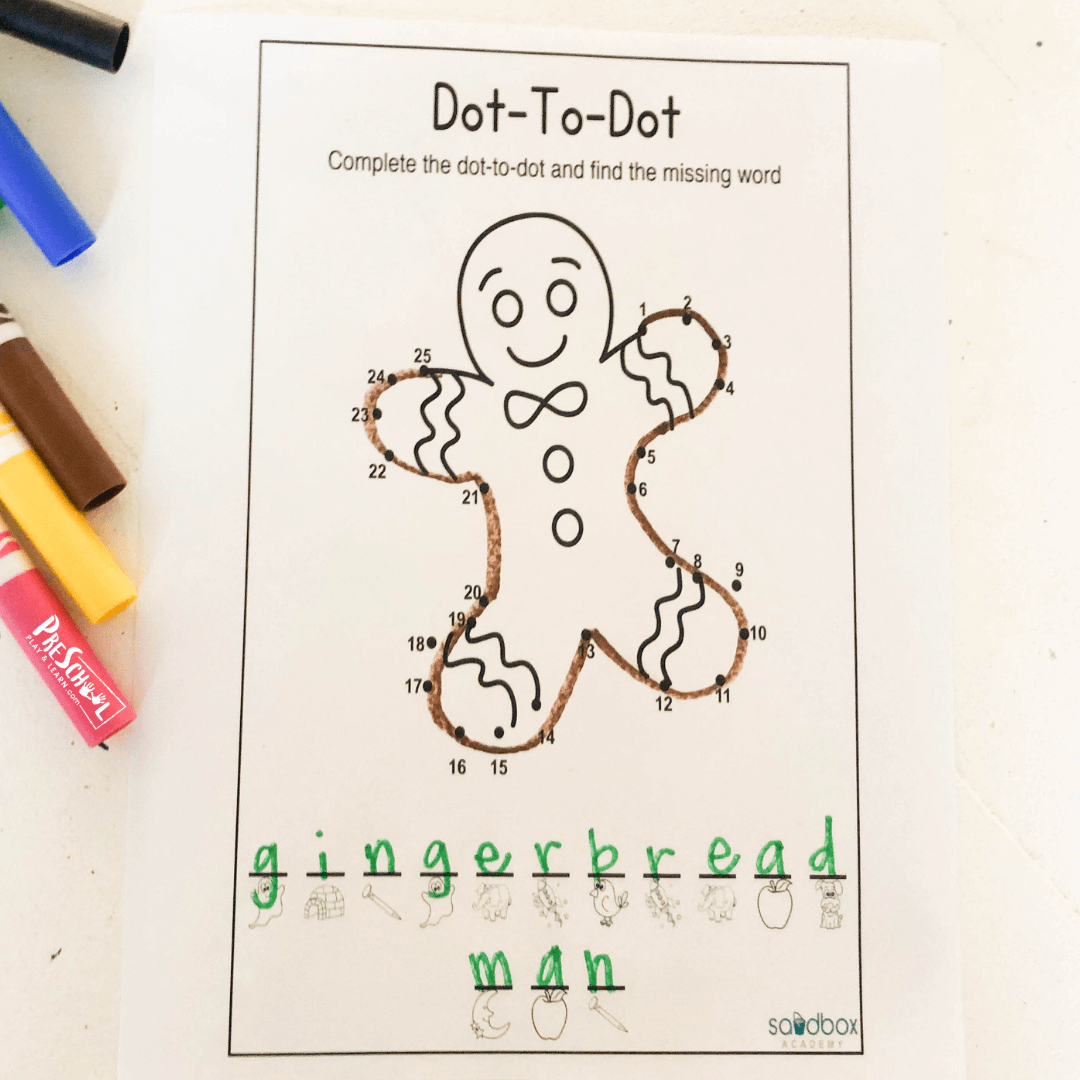 Connect The Dots Activity
