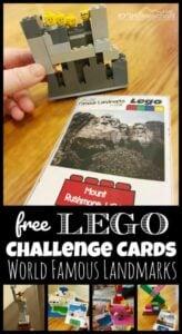 famous landmarks lego challenge