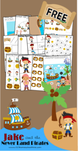 Jake and the Neverland Pirates Printables FREE