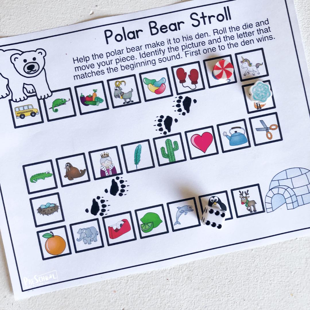 polar bear ABC Kids Games
