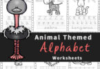 Make learning alphabet letters fun with these free printable, AnimalAlphabet Worksheets for Preschoolers. Theseabc worksheetshelp preschool, pre k, kindergarten, and first grade students work on letter recognition while learning about different animals. Each of thesealphabet worksheets practicing identifying both upper and lowercase letters, alphabet tracing, and fine motor skills too! Download pdf file withanimal printables and get ready for no prepfree preschool worksheets.
