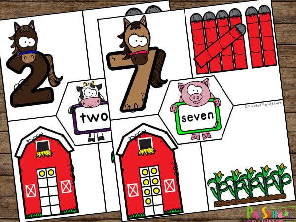 Number Sense Activities for Preschoolers