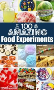 food experiments for kids