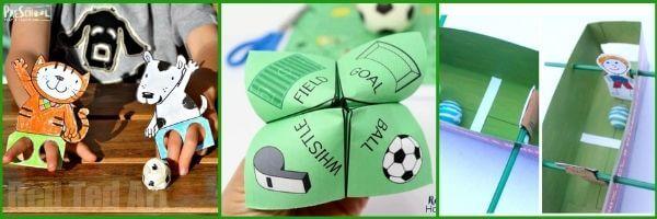 Sports crafts for preschool