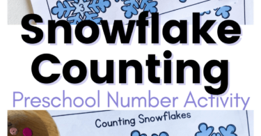 Grab these snowflake printables for a really fun Winter Math Activities for Preschoolers.Toddler, preschool, and pre-k children will practice counting snowflakes with these free printablePreK math worksheets.This is such a funwinter math project for helping young learners practice counting to 10. Simply downloadwinter printables and great ready for hands-on math as they count 1-10.