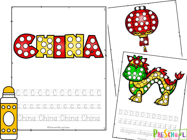 Chinese new year worksheets pdf