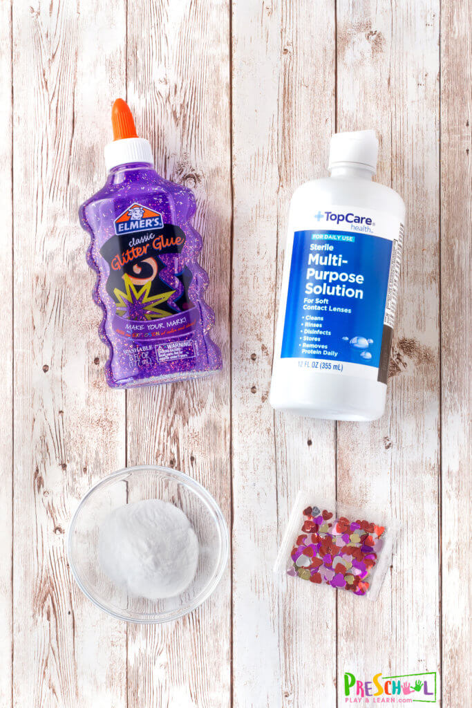 contact solution slime recipe