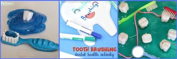 Dentist Activities for Preschoolers