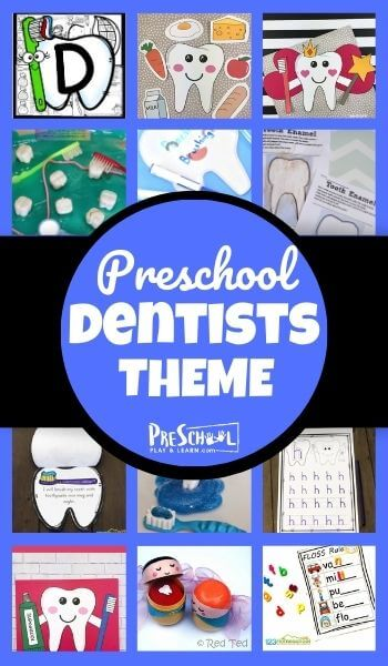 Help your preschooler learn about dentists using this Dentist Preschool Theme! Your kids will love these engaging dental activities, free dental printables, and cute dental crafts for kids. Use thisdentist theme for preschoolers with toddler, pre-k, and kindergarten age children at school, daycare, or home!