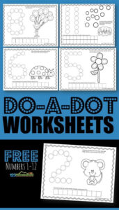 do a dot printables numbers