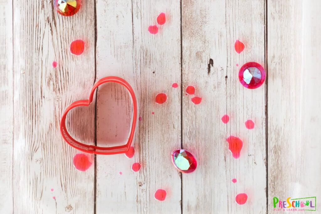 heart shape activities for preschoolers