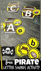 pirate letter sounds activity